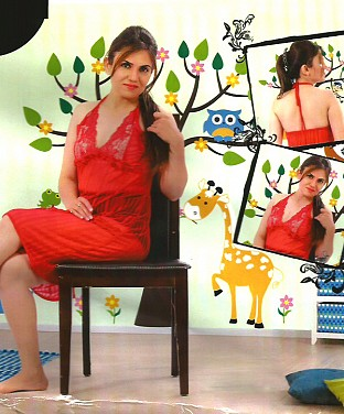 Exclusive Honeymoon Sleepwear Dress Buy Rs.1010.00
