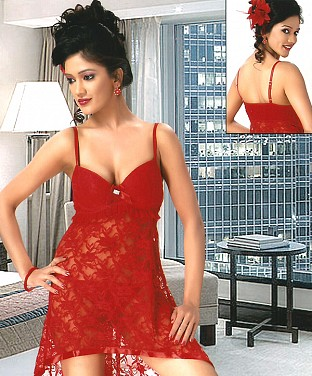 Sexy Babydoll Night Wear @ Rs978.00