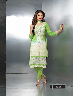 THANKAR LATEST EMBROIDERED DESIGNER PARROT STRAIGHT SUITS @ Rs1421.00