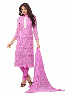 THANKAR NEW DESIGNER LIGHT PURPLE STRAIGHT SUIT @ Rs1112.00
