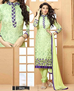 NEW DESIGNER PARROT STRAIGHT SUIT @ Rs1112.00