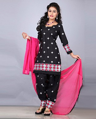 DESIGNER BLACK SALWAR SUIT @ Rs1112.00