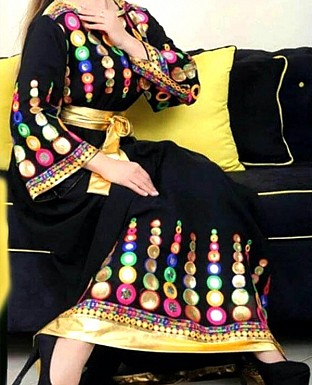 THANKAR LATEST DESIGNER BLACK SALWAR SUIT @ Rs988.00