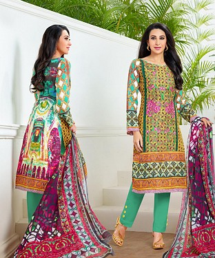 THANKAR LATEST MULTY COLOUR DESIGNER STRAIGHT SUIT @ Rs1915.00