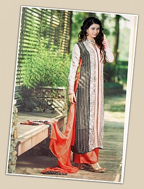 THANKAR MULTY GEORGETTE PARTY WEAR STRAIGHT SUIT @ Rs1668.00