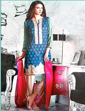 Thankar Georgette Embroidered Designer Sea Green Straight Suits @ Rs2224.00