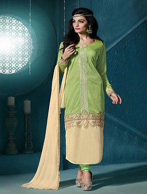 Thankar Embroidered Designer Parrot Straight Suits @ Rs1853.00