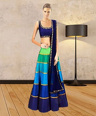Latest Arrival Designer Multy Lehenga Choli @ Rs1112.00