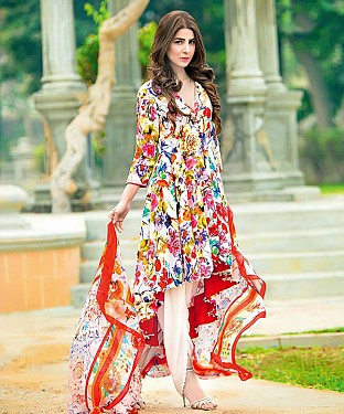 MULTY PRINTED COTTON DRESS MATEIRIAL @ Rs1112.00