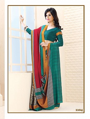 Thankar Multi Colour Printed Saree @ Rs988.00