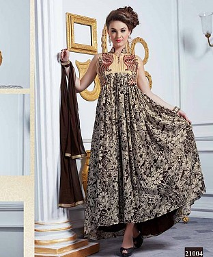 LATEST DESIGNER HEAVY MULTY PARTYWEAR GOWN @ Rs1668.00