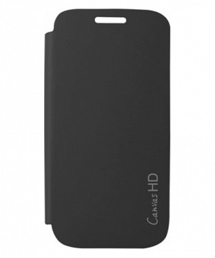 Flip Cover for Micromax A116 Canvas HD @ Rs123.00