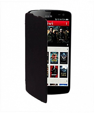 Flip Cover for Micromax Canvas A118R @ Rs123.00