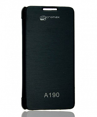 Back flip cover Micromax Canvas HD Plus A190 @ Rs123.00