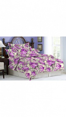 Bombay Dyeing Bluebird Double Bedsheet With 2 Pillow Cover @ Rs1029.00
