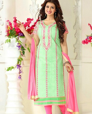 Salwar kameez Suits Dupatta with Embrodery Work@ Rs.648.00