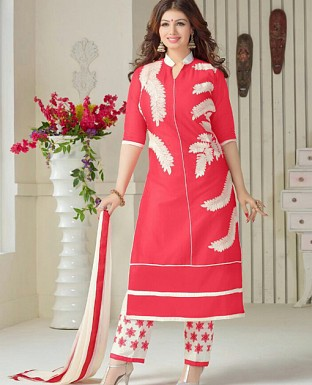 Salwar kameez & Churidar suits Dupatta with Embrodery Work@ Rs.647.00
