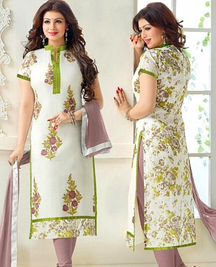 Embrodery Salwar Suit with Dupatta @ Rs648.00