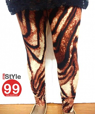 High-End European Stretchable Animal Print Leggings@ Rs.464.00