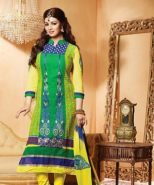 Semi Stitched Suits With Dupatta @ Rs1493.00