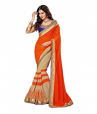 Omtex Saree With Blouse Piece @ Rs2344.00