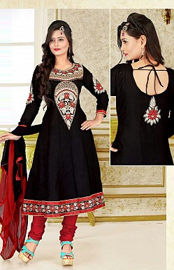 Embroidered Anarkali Suit Buy Rs.299.00