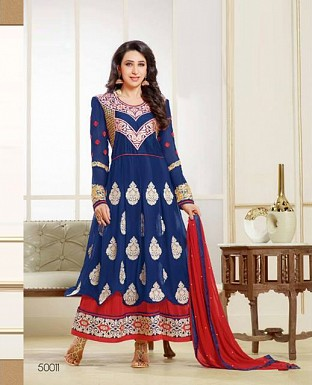 Latest Designers Anarkali Suit Buy Rs.1700.00