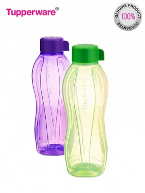 Tupperware Aquasafe Water Bottle, 1 Litre, Set of 2 Buy Rs.474.00