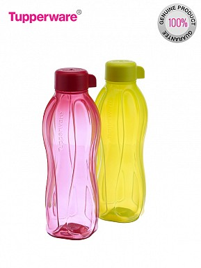 Tupperware Aquasafe  Water Bottle Set, 500ml, Set of 2 Bottles@ Rs.387.00