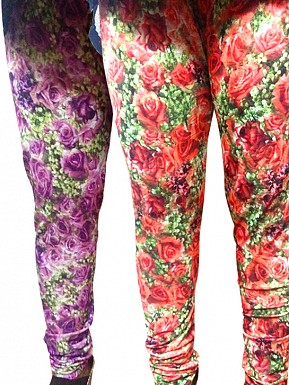 Modern Stretchable Legging with Ankle Zipper - Set of 2 Buy Rs.617.00