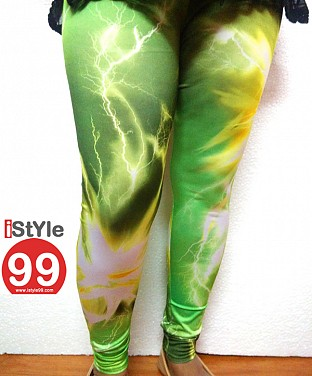 High-end European galaxy style digital printing Leggings @ Rs464.00