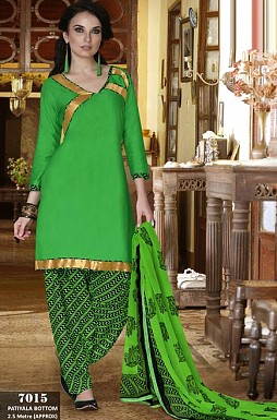 Cotton Patiala Suit Buy Rs.349.00