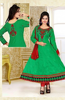 Embroidered Anarkali Suit @ Rs299.00