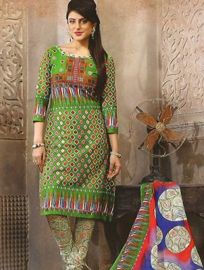Desginer Cotton Suit with Dupatta Buy Rs.300.00