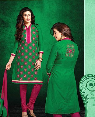 Printed Cotton Suit with Dupatta @ Rs399.00