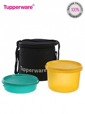 Tupperware Junior Executive 2 Containers Lunch Set, 3-Pieces@ Rs.536.00