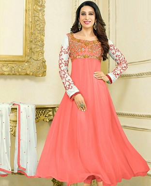 Embroidery Designer  Anarkali Suit Buy Rs.1029.00
