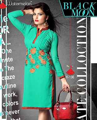 Indo Western Georgette Dress@ Rs.599.00