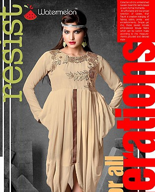 Indo Western Georgette Dress Buy Rs.599.00