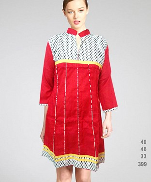 Printed Cotton Kurtis @ Rs411.00