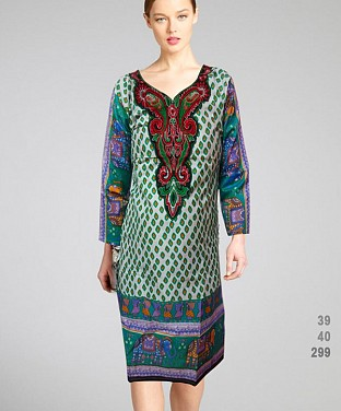 Printed Cotton Kurtis Buy Rs.308.00