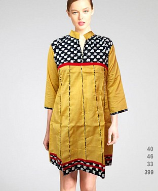 Printed Cotton Kurtis@ Rs.411.00