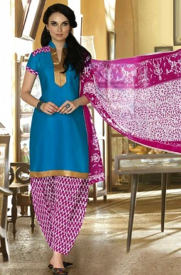 Cotton Patiala Suit @ Rs349.00