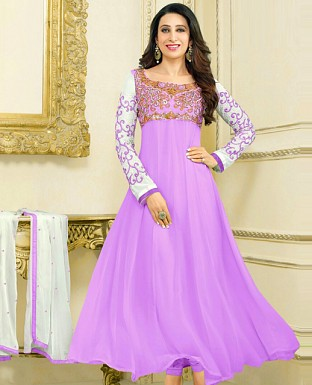 Embroidery Designer  Anarkali Suit @ Rs1029.00