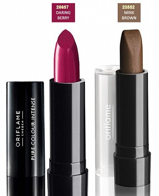 Oriflame Pure Colour Lipstick - Set of 2 @ Rs351.00