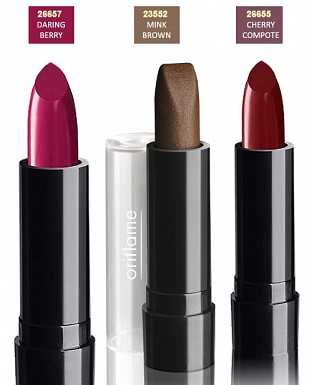 Oriflame Pure Colour Lipstick - Set of 3@ Rs.500.00