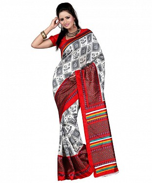 ELIZABETH ART SILK Saree @ Rs469.00