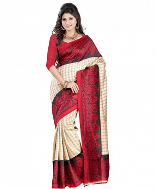 OLIVIYA ART SILK Saree Buy Rs.469.00