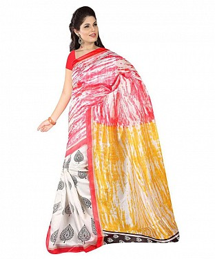 MILK ART SILK Saree @ Rs391.00