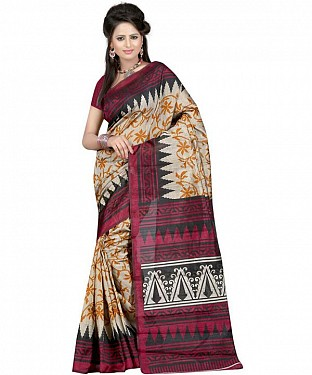 ARROW MAGENTA Saree @ Rs469.00